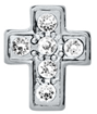 DIY Cross Design Silver Floating Charms ($0.25 each)