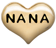 DIY NANA Design Gold Floating Charms ($0.25 each)