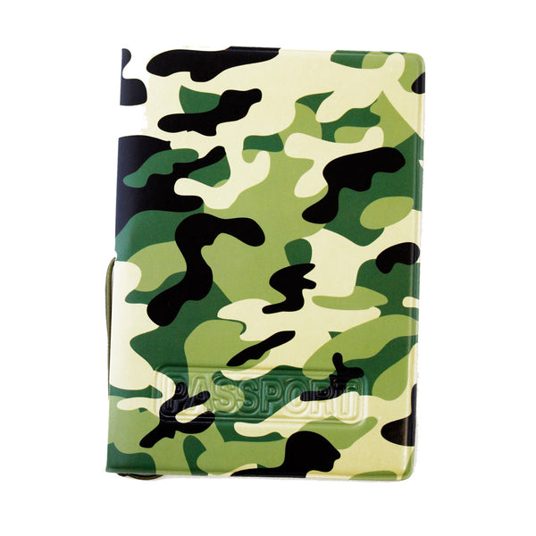 Camouflage Passport Cover