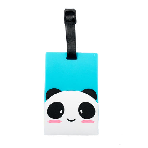 Cute Blushing Panda Luggage Tag (Comes in packs of 12 - $2.50 each)