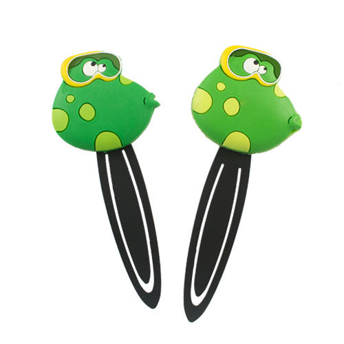 Medium Frog with Goggles Bookmark