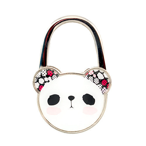 Cute Panda Bear Bag Hanger and Purse Decorative Piece
