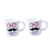 DIY Glasses I Love Moustache Design Mug ($15.00 each)