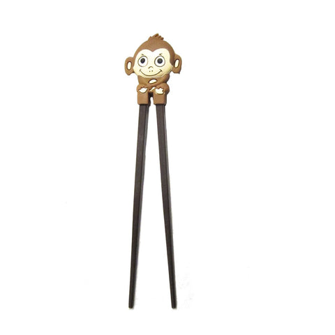 DIY Monkey Design Brown Chopsticks ($4.00 each)
