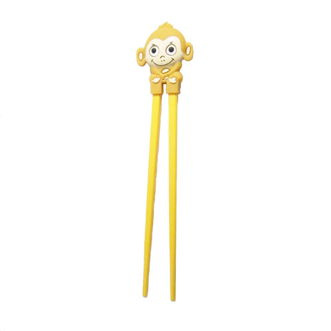 DIY Monkey Design Yellow Chopsticks