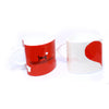 DIY Red Heart Couple Design Two Color Mug ($15.00 each)