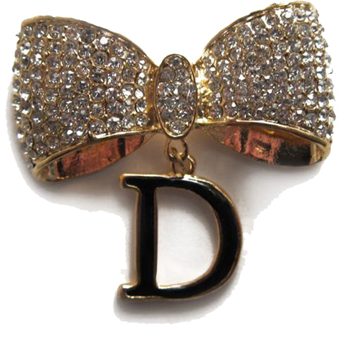 DIY Bow Design Gold Rhinestone Cabochon ($2.99 each)