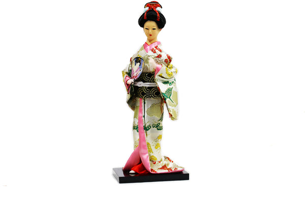 DIY Japanese Kimono Design Flower Figurine ($5.99 each)