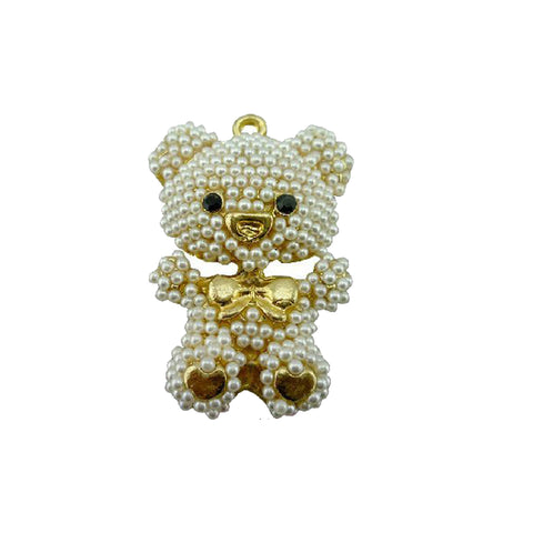 DIY Bear Tower Design Silver Rhinestone Cabochon ($2.99 each)