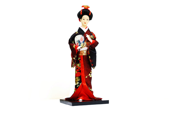 DIY Japanese Kimono Design Black Doll Figurine ($5.99 each)