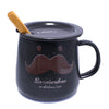 DIY Moustache Design Black Mug ($7.50 each)