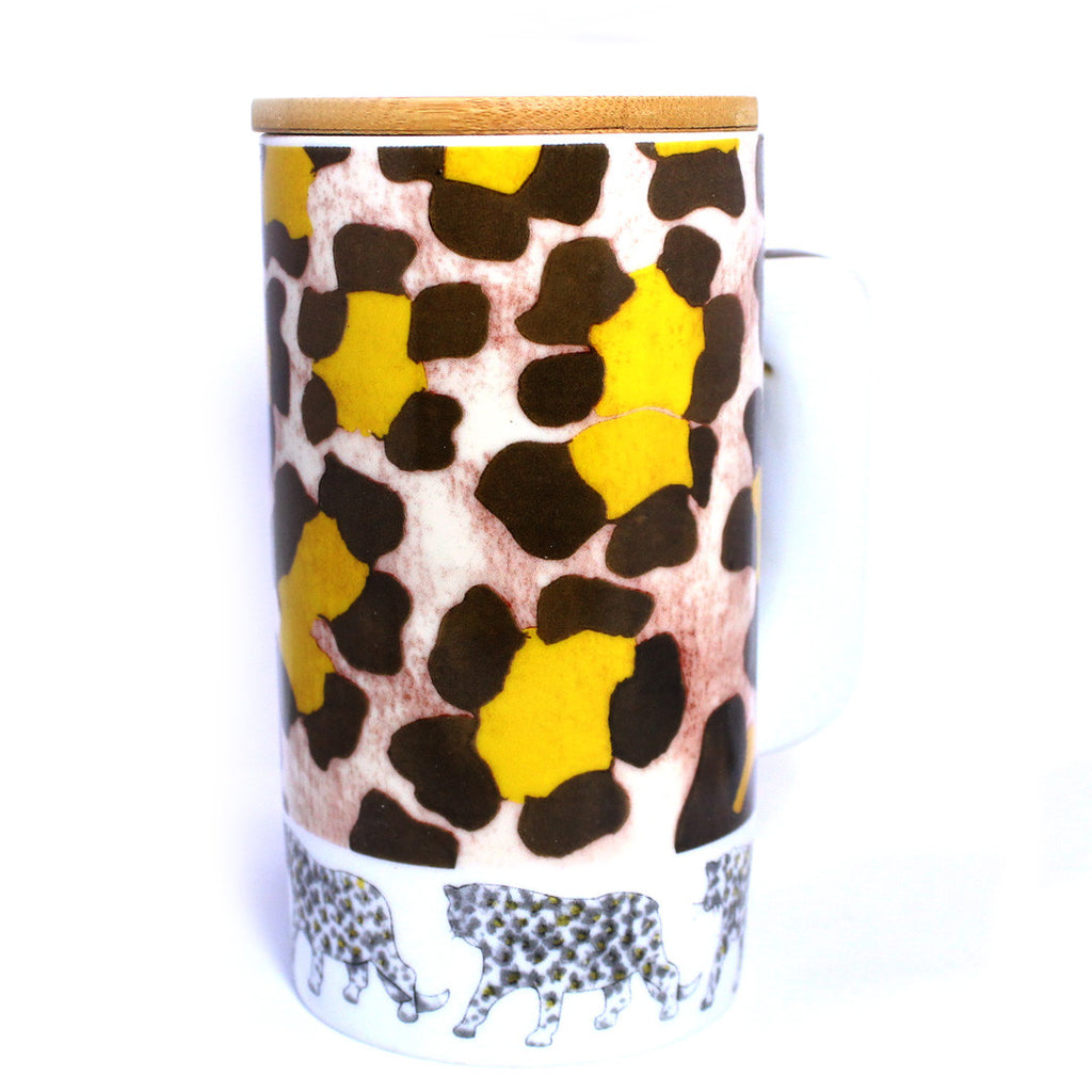 DIY Leopard Skin Design Mug ($7.50 each)