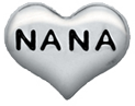 DIY NANA Design Silver Floating Charms ($0.25 each)