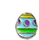 DIY Easter Egg Design Blue Floating Charms ($0.25 each)