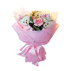 3 Pink Soft Plush Bears with Rhinestones Bouquet (Comes in box of 30 - $7.50)