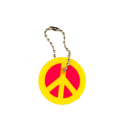 Yellow Peace Sign Keycap