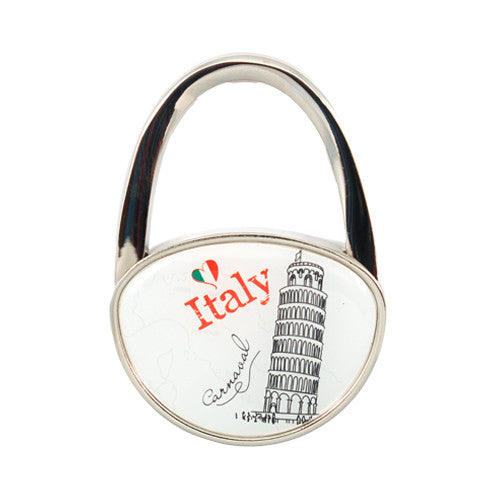 Leaning Tower Bag Hanger and Purse Decorative Piece