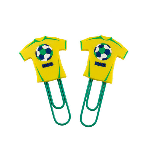 Medium Brazil Jersey Bookmark