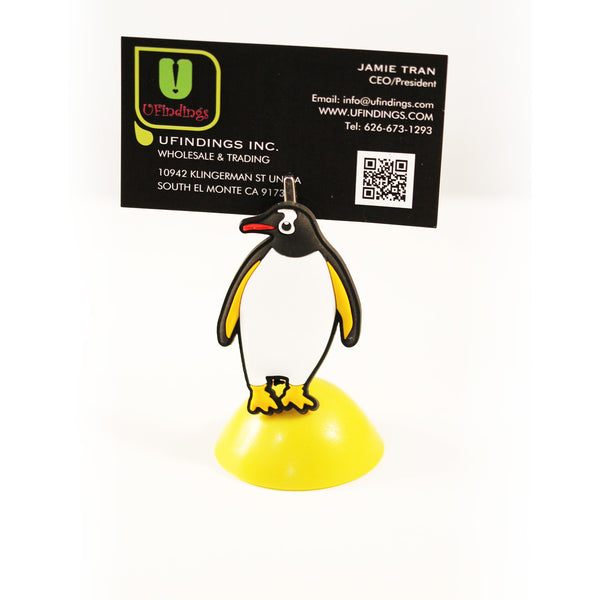 Penguin Photo / Memo / Name Card / Business Card Clip Hanger
