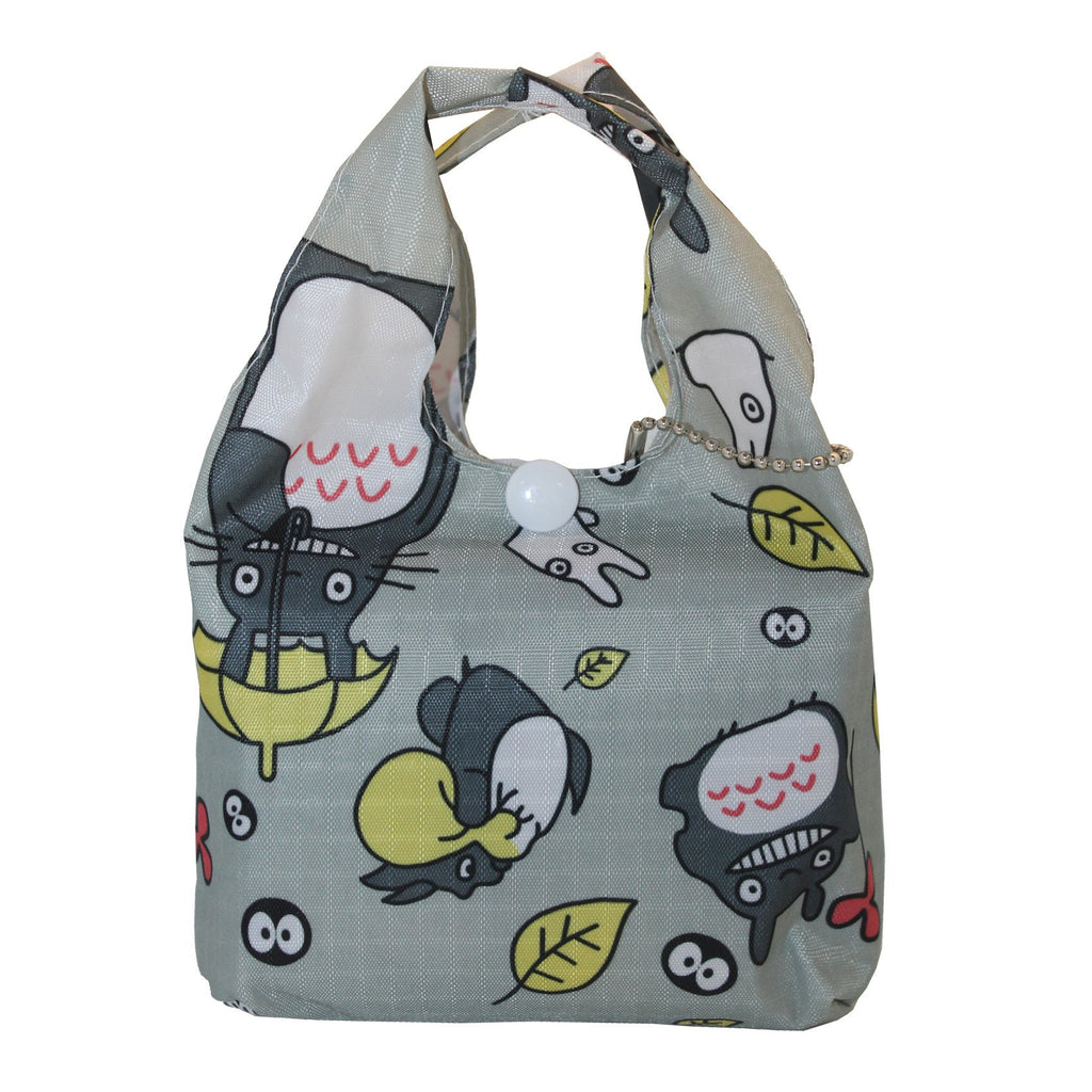 Foldable Regular  Size Shopping Bag w/ Handle - Totoro