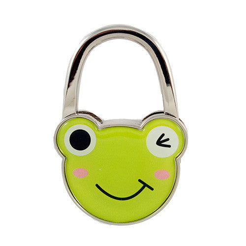 Green Frog Bag Hanger