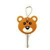 PVC Bear Face Key Cover