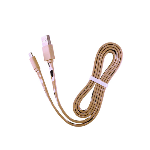 Beige Camo USB Cable