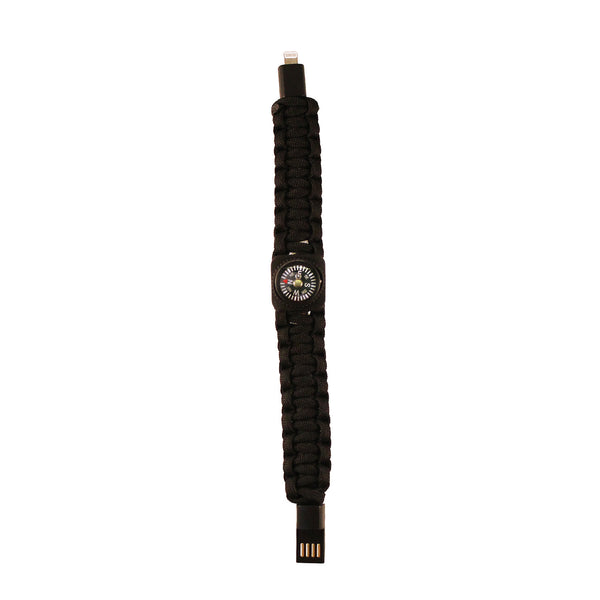 Black Compass USB Cable