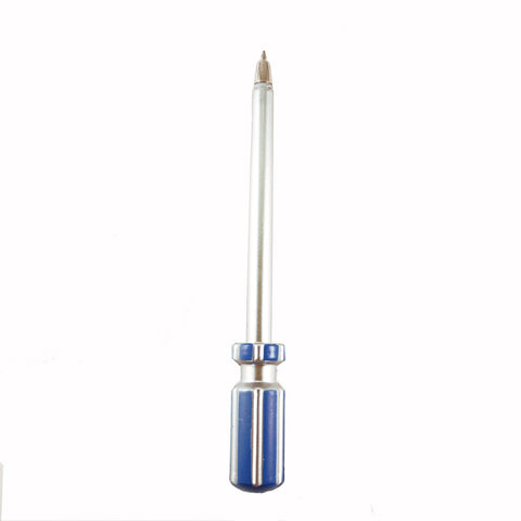 Blue Screwdriver Pen