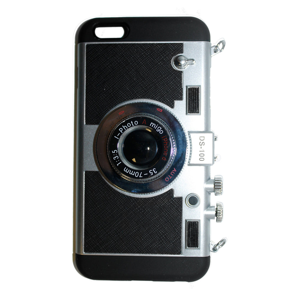 Camera with Strap Cell Phone Case for iPhone 6+
