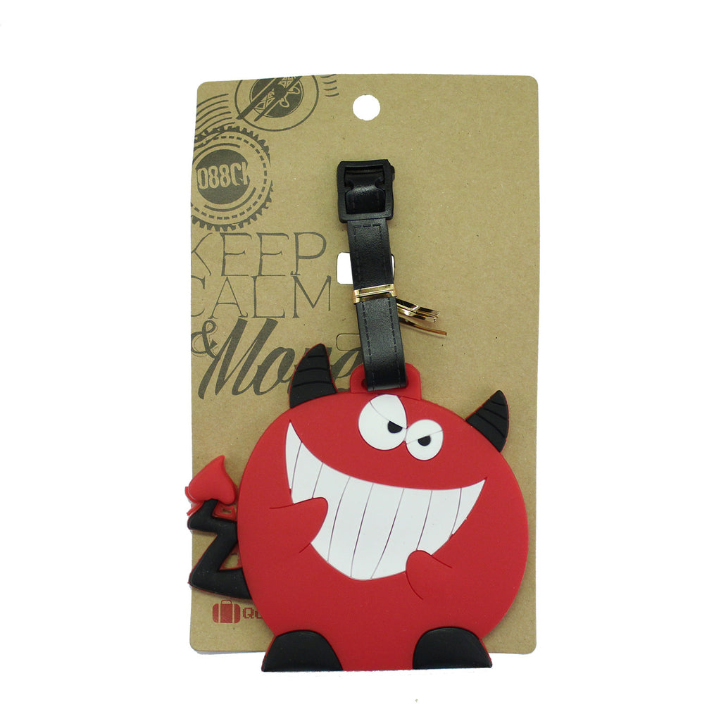 Cartoon Devil Luggage Tag (Comes in packs of 12 - $2.50 each)