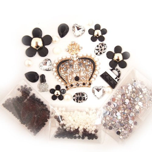 DIY Crown Theme Design Black Deco Kit ($9.99 each)