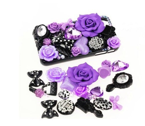 DIY Flower Theme Design Purple Deco Kit ($9.99 each)