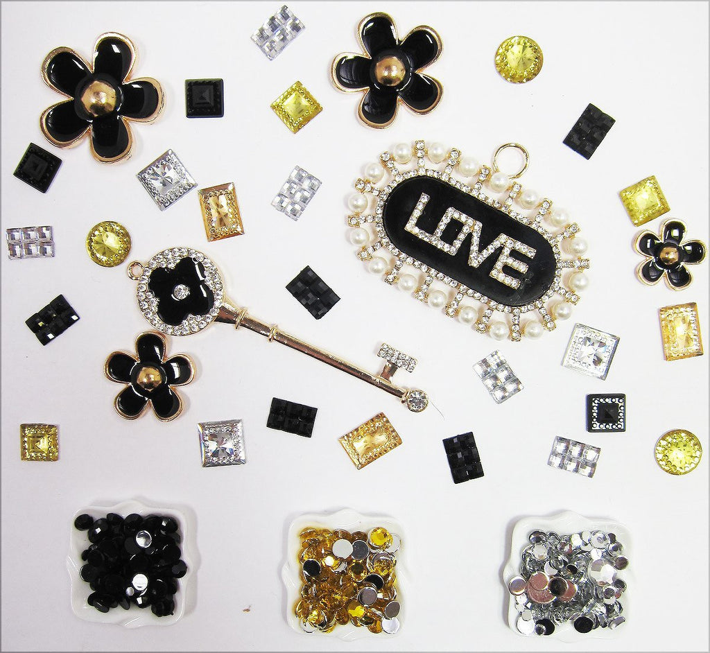 DIY Frame Key Theme Design Black Deco Kit ($9.99 each)