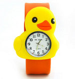 Silicone Duck with Orange band Design Slap Watch with Removable Watch Case ($2.50 ea.)