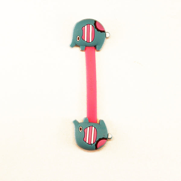 Pink and Blue Elephant Earphone Tie ($0.50)