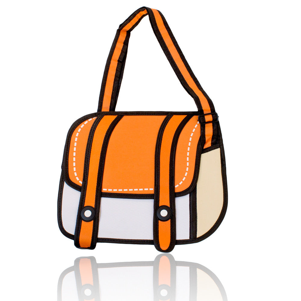 DIY Backpack Design Orange 3D Handbag  ($10.75 each)