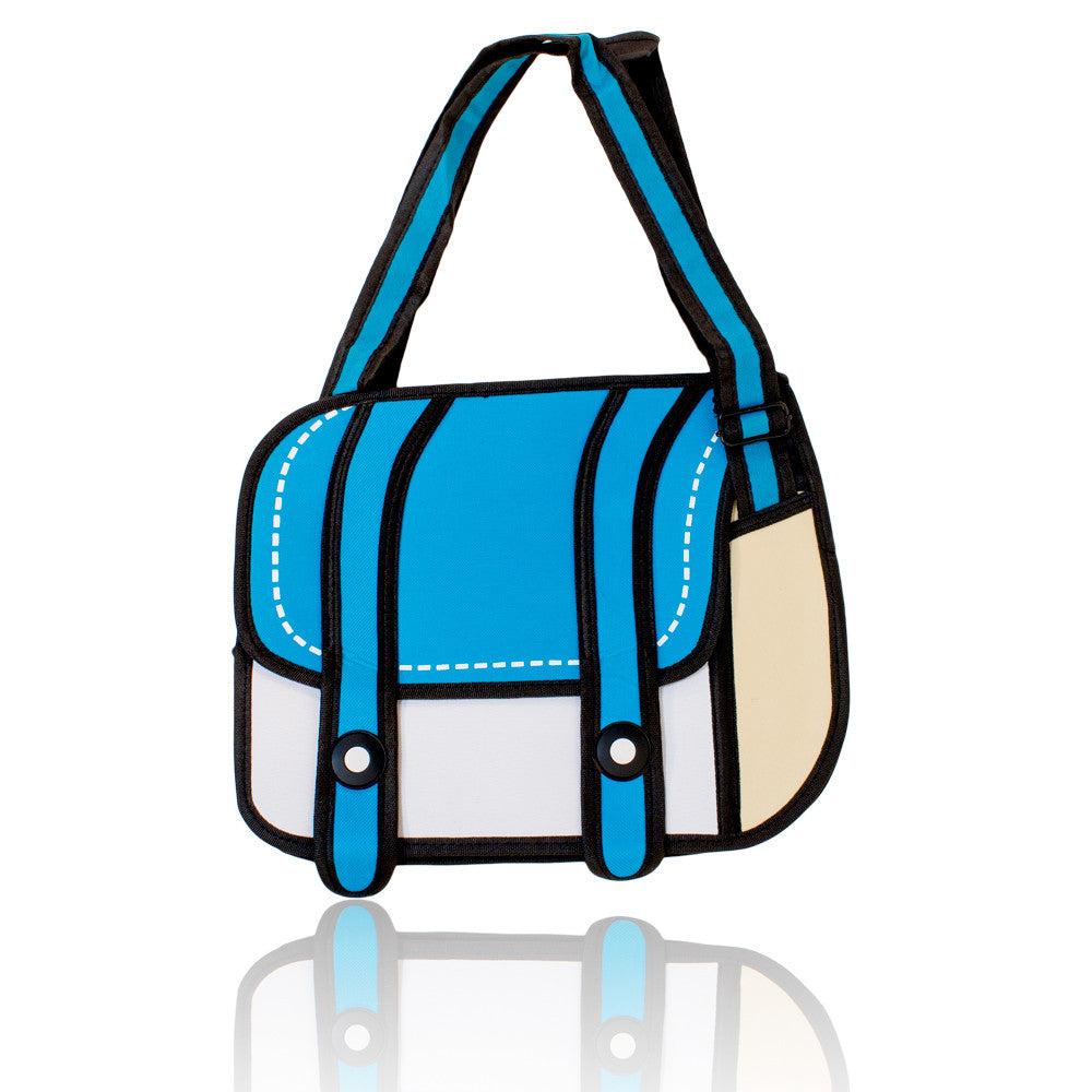 DIY Backpack Design Blue 3D Handbag  ($10.75 each)