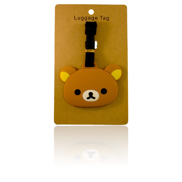 Bear Head Luggage Tag (Comes in packs of 12 - $2.50 each)