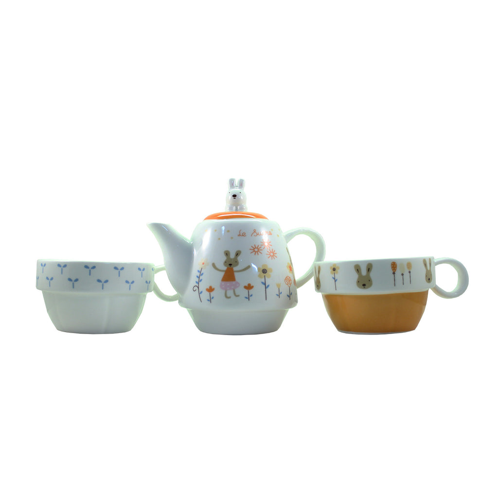Alice in Wonderland  Design Orange Tea Set ($9.99 each)