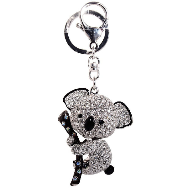 Koala Bear Rhinestone Key Chain
