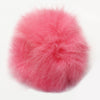 Fusia Fur Ball Key Chain
