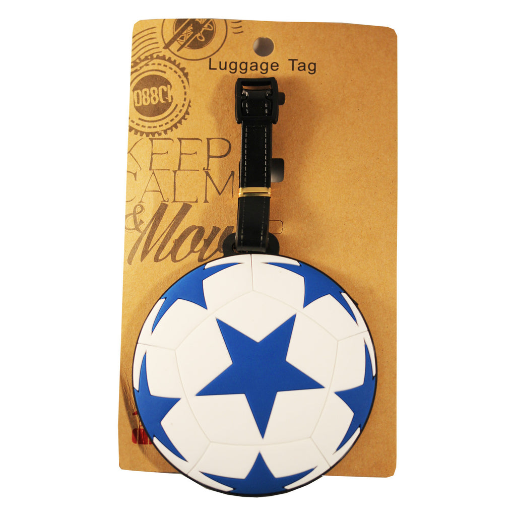 Star Soccer Ball Luggage Tag (Comes in packs of 12 - $2.50 each)