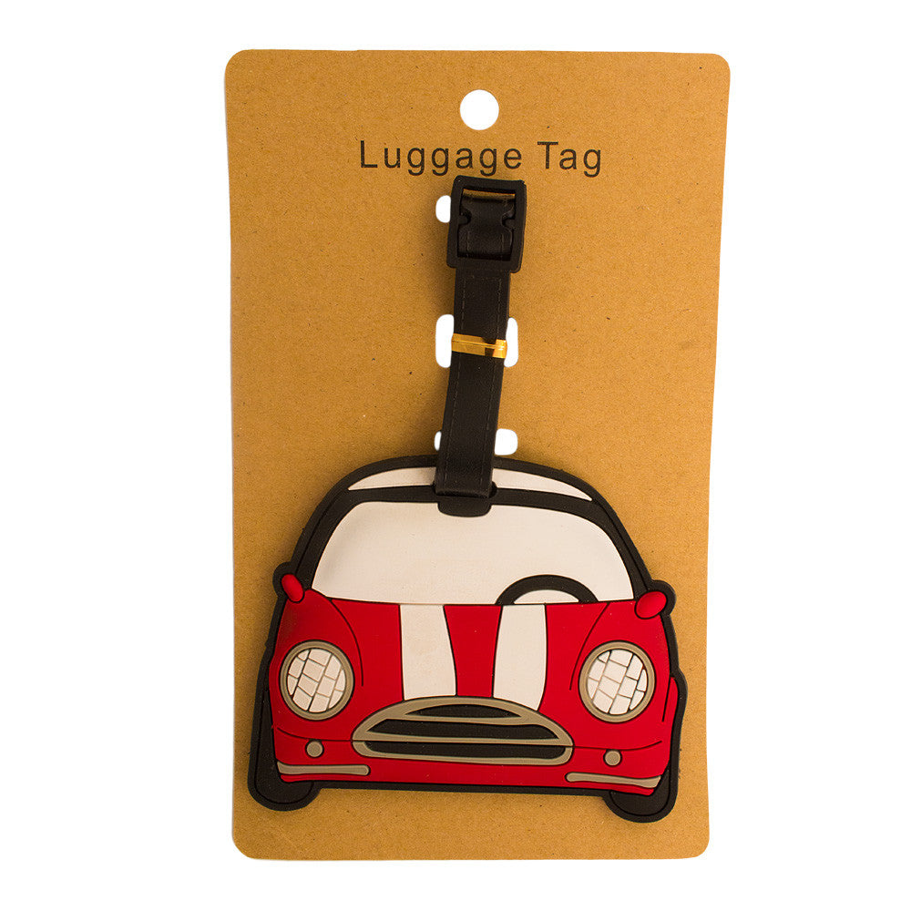 DIY Red Car Luggage Tag (Comes in packs of 12 - $2.50 each)