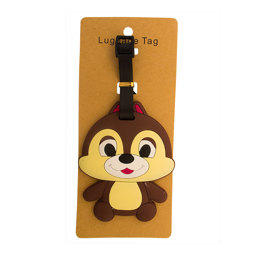 Chipmunk Luggage Tag (Comes in packs of 12 - $2.50 each)