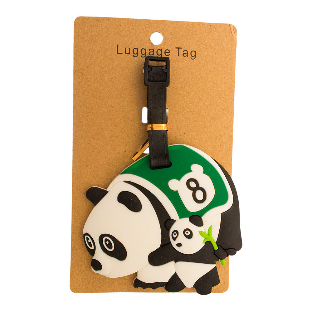 DIY Racing Panda Luggage Tag (Comes in packs of 12 - $2.50 each)