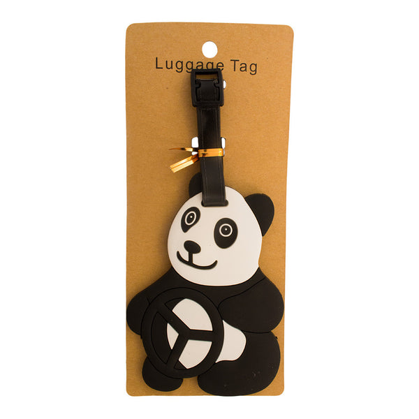 Driving Panda Luggage Tag (Comes in packs of 12 - $2.50 each)