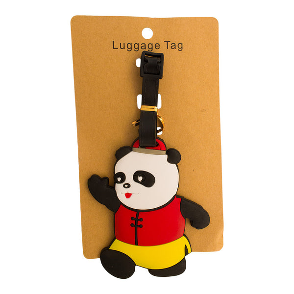 Girl Panda Luggage Tag (Comes in packs of 12 - $2.50 each)