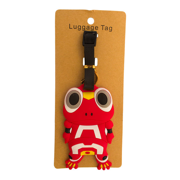 DIY Red Toad Luggage Tag (Comes in packs of 12 - $2.50 each)