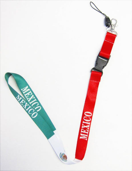 High Quality Mexico Country Lanyard